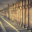 Hallway in Royal Palace of Aranjuez (Spain) — Stock Photo #59719587