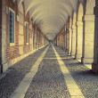 Hallway in Royal Palace of Aranjuez (Spain) — Stock Photo #59719643