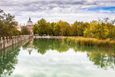 Royal Palace of Aranjuez, a residence of the King of Spain, Aran — Stock Photo