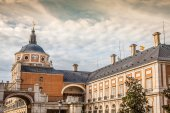 Majestic palace of Aranjuez in Madrid, Spain — Stock Photo