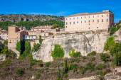 Houses hung in cuenca, Spain — Stock Photo