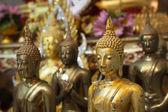 Vista de la estatua de buda en tailandia — Foto de Stock