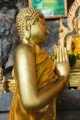Buddha statues on the tiger cave temple near krabi ,thailand — Stok fotoğraf