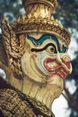 Thai giant statues, giant symbol in Thai temple — Stock Photo