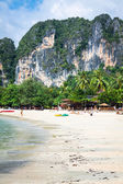 Railay beach in Krabi Thailand — Stock Photo