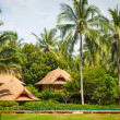 Tropical beach house on the island Koh Samui, Thailand — Stock Photo #64173623