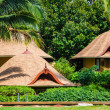 Tropical beach house on the island Koh Samui, Thailand — Stock Photo #64173647