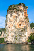 Rocks of Ao Nang, Krabi province, Thailand — Stock Photo