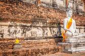 Buddha of statue in Ayutthaya Thailand — Zdjęcie stockowe