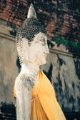 Buddha of statue in Ayutthaya Thailand — Stock Photo