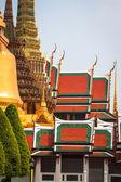 Wat phra kaew (emerald buddha Tapınağı), bangkok Tayland. — Stok fotoğraf