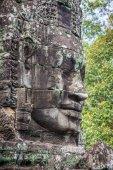古戎寺在吴哥窟的面孔,柬埔寨,暹粒 — 图库照片