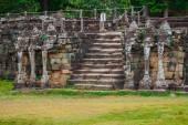 Terrace of the Elephants, Angkor Thom, Siem Reap, Cambodia — Stock Photo