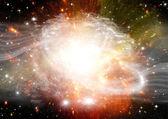 行星和星系的恒星 — 图库照片