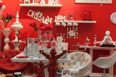 Furnishing and accessories on display at HOMI, home international show in Milan, Italy — Stockfoto