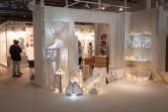 Cartuna design stand at HOMI, home international show in Milan, Italy — Zdjęcie stockowe