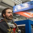 Постер, плакат: Video game character at Games Week 2014 in Milan Italy