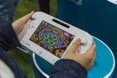 Detail of Nintendo Wii at Games Week 2014 in Milan, Italy — Foto de Stock