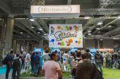 People at Games Week 2014 in Milan, Italy — Stock Photo