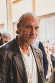Les Gold of the tv series Hardcore Pawn at Fuorisalone during Mi — Stock Photo