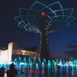 Tree of Life in the evening at Expo 2015 in Milan, Italy — Stock Photo #72752475