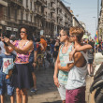 ������, ������: People taking part in Milano Pride 2015
