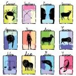 Horoscope complete — Stock Vector