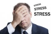 Business in stress — Stock Photo