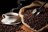 コーヒーの静物 — ストック写真