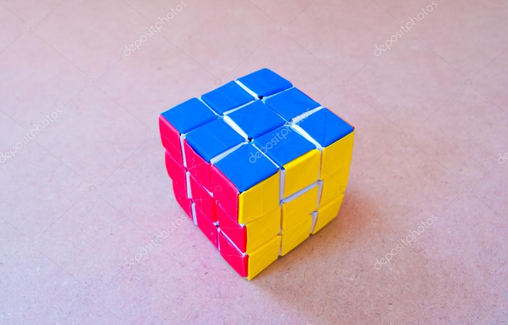 Как сделать кубик рубика своими руками из бумаги 17