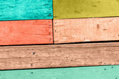 Wood plank colorful texture background — Foto Stock