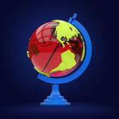 Colorful globe model — Foto Stock