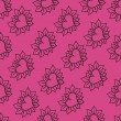Lovely hearts seamless pattern. Eps 8. — 图库矢量图片 #58496205