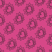 Lovely hearts seamless pattern. Eps 8. — Stok Vektör