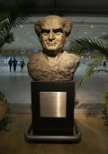 David Ben-Gurion statue — Stock Photo