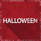 Halloween grunge red background, vector illustration  — 图库矢量图片