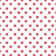 Heart background on scribble abstract pattern white. Vector — Stock Photo #62307955