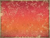 Pink and red sun rise vintage background, vector illustration, v — Stock Photo