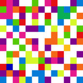 Pixel background in 8-bit style, digital seamless pattern, vecto — Stock Photo