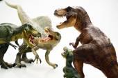 Isolated dinosaur on white background — Stock Photo