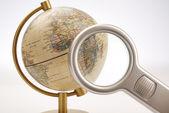 Terrestrial globe — Stock Photo