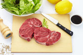 Fresh steak — Stock Photo