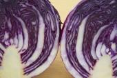 Purple cabbage — Stock Photo
