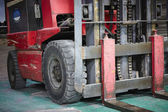 Forklift loader — Stock Photo