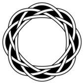 Kreisförmige knoten — Stockvektor