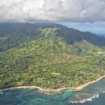 Kauai napali coast aerial view — Stock Photo #52102027