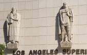 Los angeles superior court detail — Stock Photo