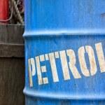 Oil petroleum barrel drum — Stock Photo #52728271