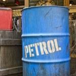 Oil petroleum barrel drum — Stock Photo #52728287