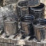 Oil petroleum barrel drum — Stock Photo #52729193